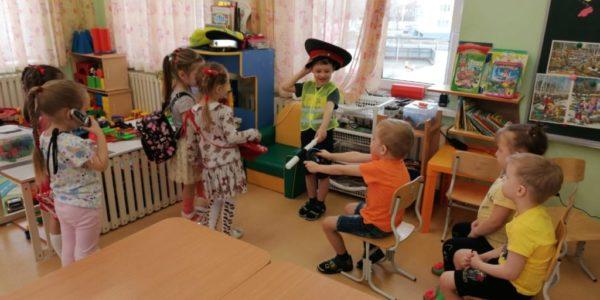 """Неделя безопасности по ПДД в детском саду «Теремок"""""""